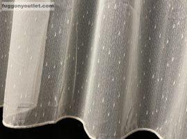 Készre vartt függöny 300cm szeles 260cm magas Lenesvoile krem színű