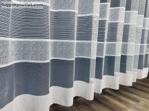 Készre vartt függöny bordasos féher  színű 300cm szeles 250cm magas