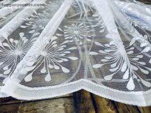 Készre vartt függöny 300cm szeles 150cm magas Vizcsapas  fehér színű 07220837