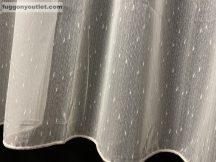 Készre vartt függöny hopehely krem300cm szeles 260cm magas krem színű
