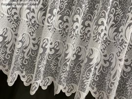 Függöny készre vart veykonindas fehér színű 400 cm szeles 200 cm magas