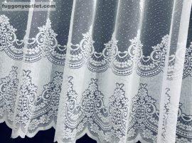 Készre vart függöny  constantine fehér színű  300cm szeles 160cm magas
