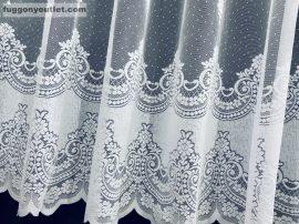 Készre vart függöny  constantine fehér színű  300cm szeles 155cm magas