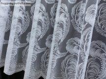Kesz függöny tollas fehér színű 500 cm szeles 250 cm magas