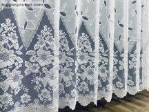 Kesz függöny regcsatos fehér színű 500 cm szeles 250 cm magas