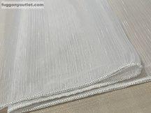 Függöny készre vart simalenes  fehèr színű 300 cm szeles 200 cm magas