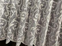 Készre vartt függöny zsakard indás fehér színű 200cm széles 155 cm magas