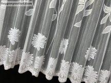 Készre vart függöny nagymargeretta fehér színű 500 cm szeles 200 cm magas