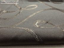 Kész  sötétitő függöny selyem csoki barna színű ( 2 db =140 cm széles 250 cm magas )