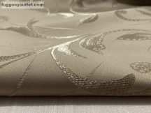 Kész  sötétitő függöny ( 2 db =140 cm szeles 250 cm magas ) selyem mogyoro színű