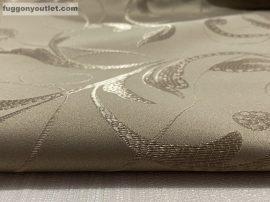 kész függöny sötétitő indaleveles ( 2 darab =140 cm szeles 180 cm magas ) selyem vilagos barna színű