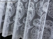 Készre vart függöny tollas fehér színű 500 cm szeles 200 cm magas
