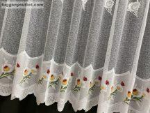 Készre vartt függöny katicabogar  féher színű 400 cm szeles 200cm magas