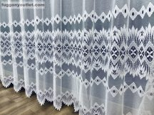 Készre vart függöny csillar fehér színű 500 cm szeles 180 cm magas