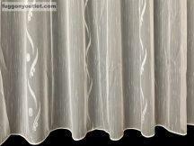 Készre vartt függöny pdv58feher 400cm szeles 260cm magas Lenes voile fehér alapon fehér színű