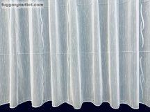 Készre vartt függöny lenn voal fehér alapon fehèr színű  400cm szeles 150cm magas