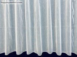 Készre vartt függöny lenn voal fehér alapon fehèr színű  500cm szeles 150cm magas