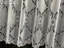 Függöny készre varrt sűrűbarok fehér színű 400 cm széles 155 cm magas