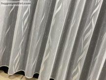 függöny készre vart (16267feher) Fehér szinü 500cm szeles 210cm magas