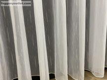 függöny készre vart (4711feher) Fehér szinü 500cm szeles 210cm magas