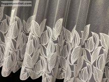 függöny Készre vartt leveltömeg fehér  színű 400cm szeles 180cm magas