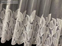 függöny Készre vartt leveltömeg fehér  színű 500cm szeles 180cm magas