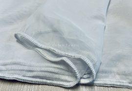Készre vartt függöny sima voal fehér színű 500 cm széles 155 cm magas