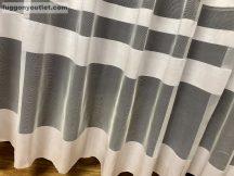 Készre vartt függöny simacsikos fehér színű 300cm szeles 260 cm magas