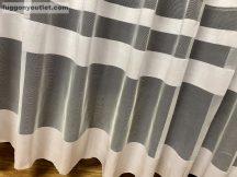 Készre vartt függöny simacsikos fehér színű 500 cm szeles 260 cm magas