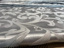 Kész  sötétitő függöny selyem szürke színű ( 2 db =140 cm széles 260 cm magas )