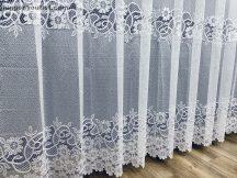 függöny Készre vartt zeyna fehér  színű 300cm szeles 155cm magas
