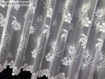 Készre vartt függöny Rüzgar fehér színű 500cm szeles 280 cm magas