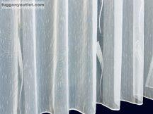 Készre vartt függöny lenn voal fehér alapon fehèr színű  400cm szeles 160cm magas
