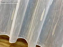 függöny készre vart (nagy esö arany3) Fehér alapon arany  300cm szeles 260cm magas