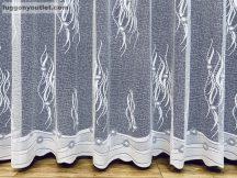 Készre vartt függöny nötron fehér színű 300cm szeles 250cm magas