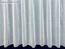Készre vartt függöny lenn voal fehér alapon fehèr színű  300cm szeles 150cm magas 216031633