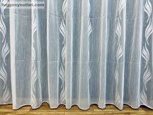 Készre vartt függöny lenn voal fehér alapon fehèr színű  500cm szeles 150cm magas 216031649