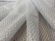Készre vartt függöny modern csíkos fehér színű 300cm szeles 280 cm magas