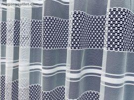 Készre vartt függöny modern lyukacsos fehér színű 300cm szeles 250 cm magas 216091424