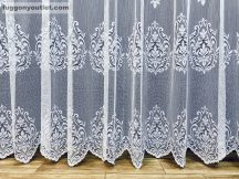 Készre vartt függöny barok fehér színű 300 cm szeles 180 cm magas 216211423