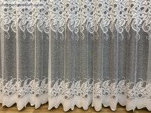 Készre vart függöny Vegtelenlevel fehér színű 300 cm szeles 200 cm magas