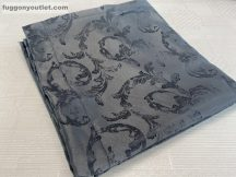 Kész sötétítő függöny szürkeinda selyem sötétszürke színű ( 2 darab =140 cm szeles 260 cm magas ) oldal kötős  2 db