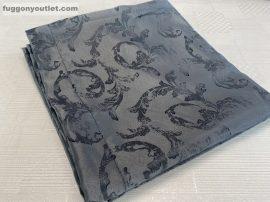 kész sötétitő függöny szürkeinda selyem  sötetszürke  színű ( 2 darab =140 cm szeles 260 cm magas )