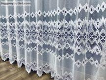 Készre vart függöny csillar fehér színű 300 cm szeles 180 cm magas