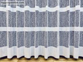 Készre vart függöny jeggescsikos fehér színű 300 cm szeles 180 cm magas