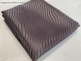 kész sötétitő függöny barna hulám  selyem  csoki barna   színű ( 2 darab =140 cm szeles 260 cm magas )