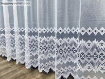 Készre vart függöny csillar  fehér színű 400 cm szeles 250 cm magas