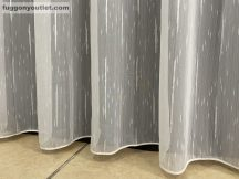 függöny készre vart (4711-24) Fehér alapon fehér 300cm szeles 260cm magas