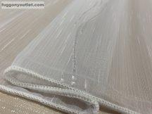 Függöny készre vart 5124-feher4 voal fehér alapon fehér színű 400cm szeles 260 cm magas