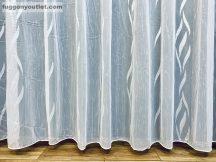 Készre vartt függöny 300cm szeles 160cm magas lenesvoile fehér színű